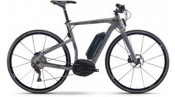 Haibike XDURO Urban 4.0 28 E-Bike Komplettrad titan/anthrazit matt Bosch Performance Cruise-Antrieb Mod. 2017