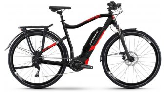 """Haibike SDURO Trekking 2.0 500Wh 28"""" E-Bike Komplettrad Gr. S schwarz/rot/weiß Mod. 2019 - VORFÜHRTEIL"""