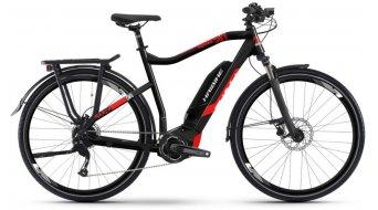 "Haibike SDURO Trekking 2.0 500Wh 28"" E-Bike Komplettrad schwarz/rot/weiß Mod. 2019"