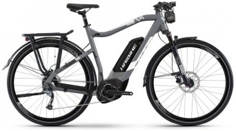 "Hai bike SDURO Trek 3.5 500Wh 28"" E-Bike size L grey/white/black matt 2019"