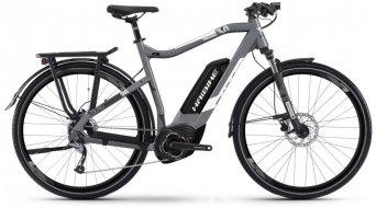 """Haibike SDURO Trekking 3.0 500Wh 28"""" E-Bike 整车 型号 灰色/白色/黑色 matt 款型 2019"""