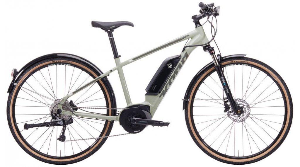 """Kona Splice-E 28"""" E-Bike 整车 型号 S desert green 款型 2020"""
