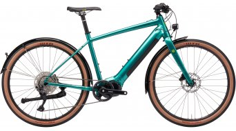 KONA Dew-E DL 27.5 elektrokolo Urban úplnýrad velikost XL gloss  metallic green model 2021