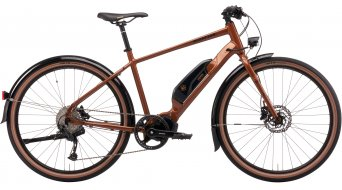 Kona Dew-E 27.5 E-Bike Urban bici completa tamaño XL gloss metallic root beer Mod. 2021