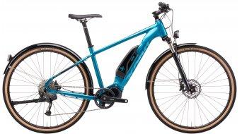Kona Splice-E 28 E-Bike Trekking Komplettrad gloss metallic emerald green Mod. 2021