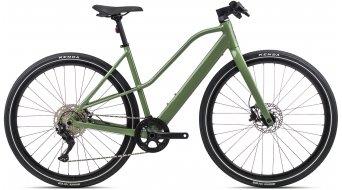 Orbea Vibe Mid H30 28 E-Bike trekking bici completa . gloss mod. 2021