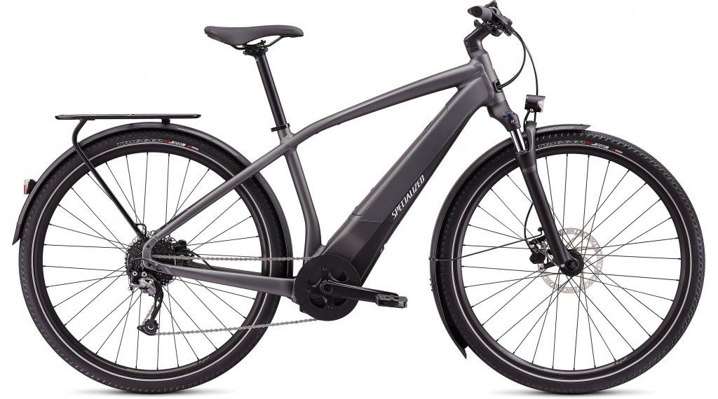 "Specialized Turbo Vado 3.0 28"" E-Bike 整车 型号 S charcoal/black/liquid silver 款型 2020"