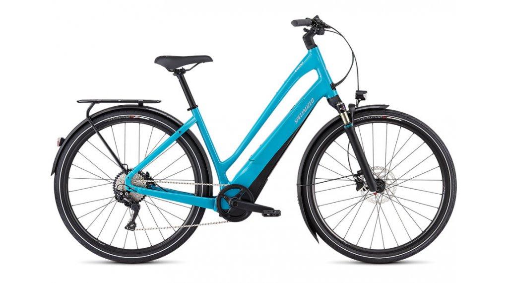 """Specialized Turbo Como 4.0 Low-Entry 700C 28"""" E-Bike Komplettrad Gr. S aqua/black/chrome Mod. 2020"""