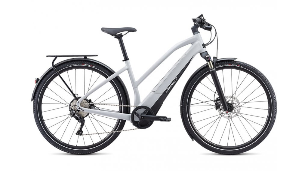 "Specialized Turbo Vado 4.0 Step-Through 28"" E-Bike Komplettrad Damen Gr. S dove grey/black/liquid silver Mod. 2020"