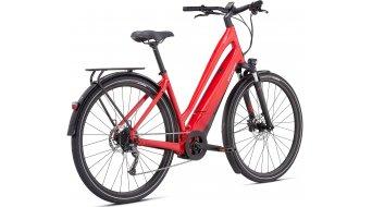 Specialized Turbo Como 3.0 Low-Entry 700C 28 E-Bike City bici completa tamaño S flo rojo w/azul ghost pearl/negro/chrome Mod. 2021