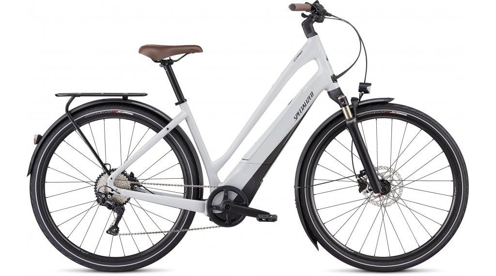 "Specialized Turbo Como 4.0 Low-Entry 700C 28"" E-Bike City Komplettrad Gr. S dove grey/cast blue/black Mod. 2021"