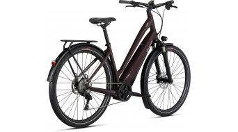 Specialized Turbo Como 4.0 Low-Entry 700C 28 E-Bike City 整车 型号 L cast umber/black/Chrome 款型 2021