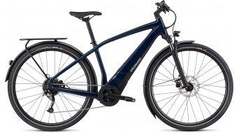 "Specialized Turbo Vado 3.0 28"" E-Байк трекинг Велосипед, размер_XL cast_синьо/черно/liquid_silver модел 2021-МОСТРА- мостра LADEN- LAUFмощност 90KM"