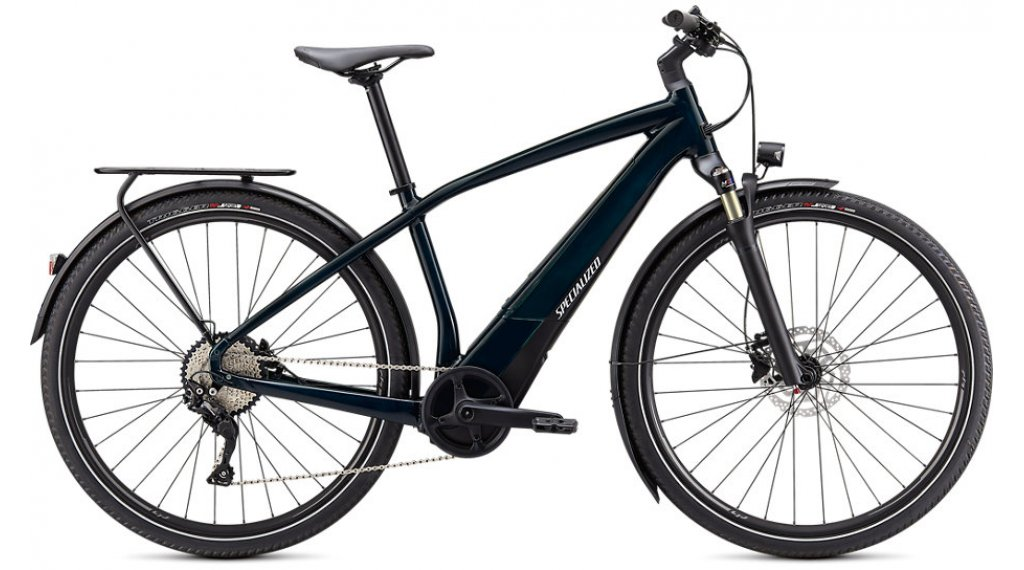 Specialized Turbo Vado 4.0 28 E-Bike Trekking 整车 型号 M forest green/black/liquid silver 款型 2021