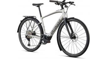 Specialized Turbo Vado SL 5.0 EQ 28 E-Bike Trekking bici completa tamaño M brushed aluminio/negro reflective Mod. 2021