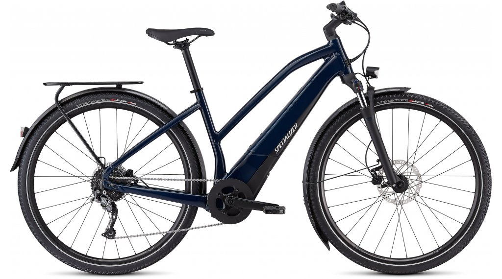 "Specialized Turbo Vado 3.0 Step-Through 28"" E-Bike Komplettrad Damen Gr. L cast blue/black/liquid silver Mod. 2021"