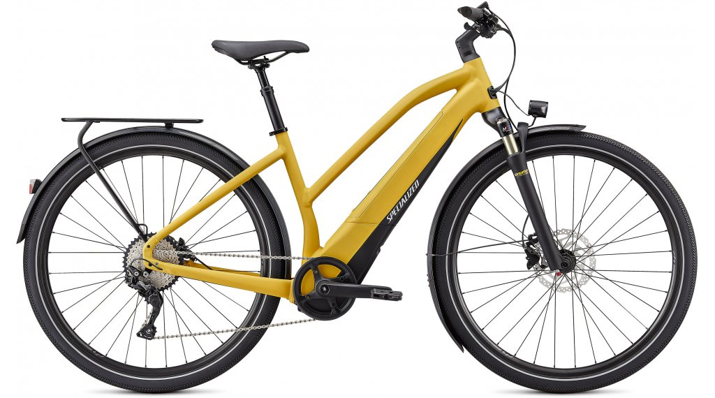 Specialized Turbo Vado 4.0 Step-Through LTD 28 E-Bike Trekking Komplettrad Damen Gr. L brassy yellow/black/liquid silver Mod. 2021