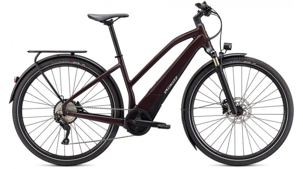 Specialized Turbo Vado 4.0 Step-Through 28 E-Bike Trekking bici completa Señoras tamaño M cast umber/negro/liquid plata Mod. 2021