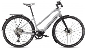 Specialized Turbo Vado SL 5.0 Step-Through EQ 28 E-Bike Trekking Komplettrad Damen brushed aluminium/black reflective Mod. 2022