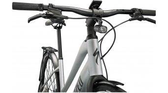 "Specialized Turbo Vado SL 5.0 Step-Through EQ 28"" E-Bike Trekking Komplettrad Damen Gr. M brushed aluminium/black reflective Mod. 2022"