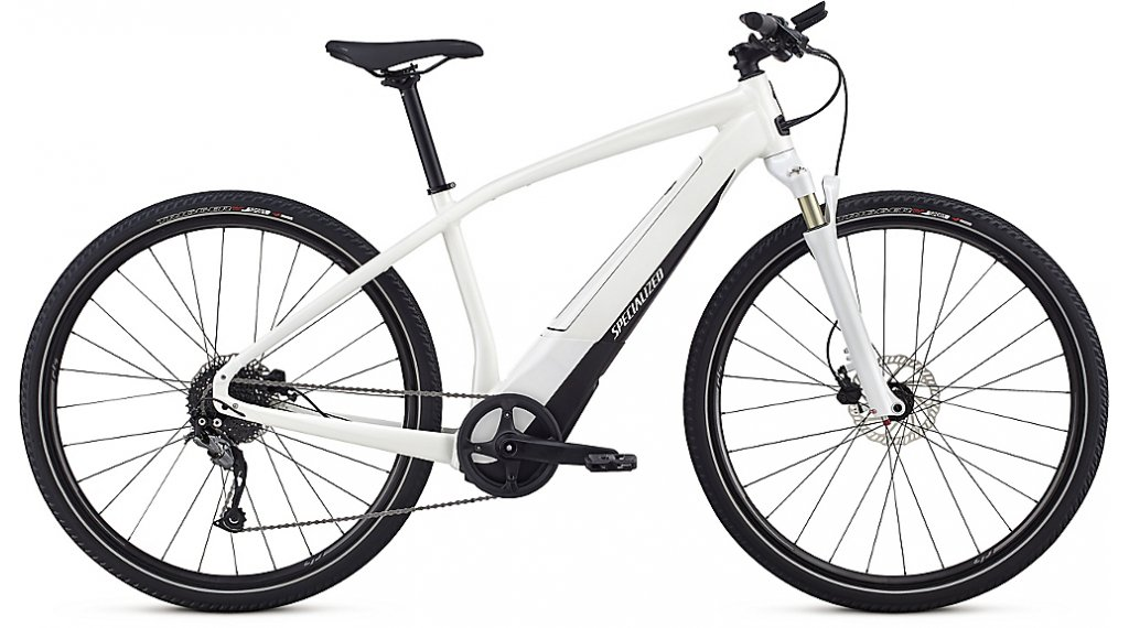 Specialized Turbo Vado 2.0 E-Bike 整车 型号 L satin metallic white silver/black 款型 2019