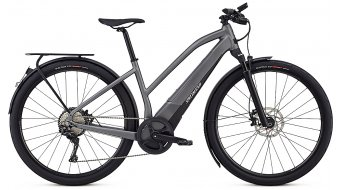 Specialized Turbo Vado 6.0 e-bike dames fiets 45km/h gloss charcoal/black/chroom model 2019