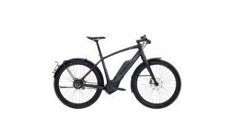 Trek Super Commuter 9S+ E-Bike bici completa mis. 50cm dnister black mod. 2017