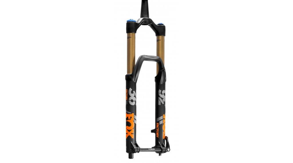 """Fox 36 Float Grip 2 HSC LSC HSR LSR Factory Serie 27.5"""" Federgabel 160mm 1.5 Tapered 15QRx100mm 44mm Offset matte black orange/matte black Logo Mod. 2020"""