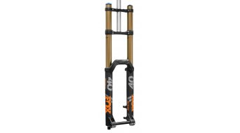 "Fox 40 Float Grip 2 Factory Serie 27.5"" Federgabel 203mm 1 1/8 20TAx110mm 52mm Vorlauf matte black orange/matte black Logo Mod. 2020"