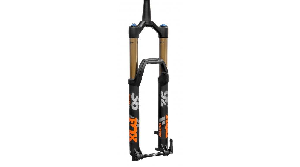 """Fox 36 Float Grip 2 HSC LSC HSR LSR Factory Serie 29"""" Federgabel 160mm 1.5 Tapered 15QRx110mm Boost 51mm Offset matte black orange/matte black Logo Mod. 2020"""
