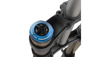 "Fox 40 Float Grip 2 Factory Serie 29"" Federgabel 203mm 1 1/8 20TAx110mm 58mm Offset matte black orange/matte black Logo Mod. 2020"