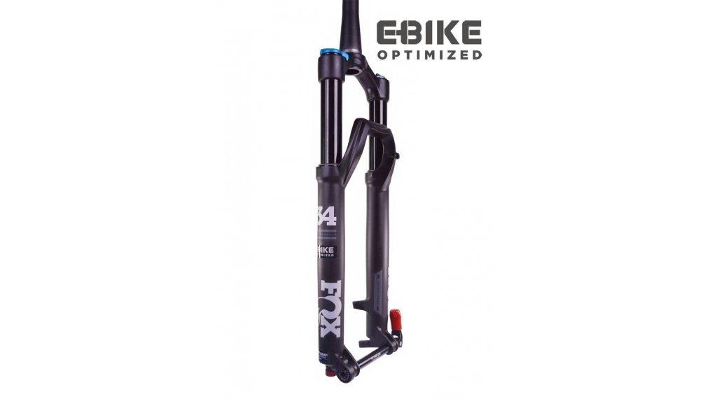 "Fox 34 Float Grip 3 Pos Performance Serie 29"" E-Bike Federgabel 120mm 1.5 Tapered 15QRx110 Boost 51mm Offset matte black std/matte black Logo Mod. 2020"