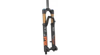 """Fox 36 Float Grip 2 HSC LSC HSR LSR Factory Serie 26"""" Federgabel 100mm 1 1/8 15TAx100mm 37mm Offset matte black orange/matte black Logo Mod. 2021"""