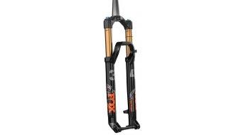 """Fox 34 Float FIT4 Remote-Adjust Factory Serie 27.5"""" Federgabel 120mm 1.5 Tapered 15x110mm Kabolt 44mm Offset Shiny black orange/gloss black Logo Mod. 2021"""