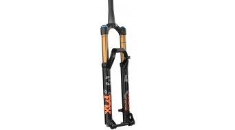 """Fox 34 Float Grip 2 HSC LSC HSR LSR Factory Serie 27.5"""" Federgabel 140mm 1.5 Tapered 15QRx110mm 44mm Offset shiny black orange/gloss black Logo Mod. 2021"""