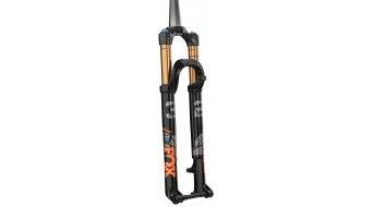 """Fox 32 Float Stepcast FIT4 Remote-Adjust Factory Serie 29"""" Federgabel 100mm 1.5 Tapered 15x100mm Kabolt 44mm Offset Shiny black orange/gloss black Logo Mod. 2021"""