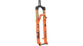 """Fox 34 Float Factory FIT4 29"""" Federgabel Tapered 3-Pos-Adjust Boost 120mm 15x110mm Kabolt 44mm-Offset shiny orange black/clear logo Mod. 2021"""