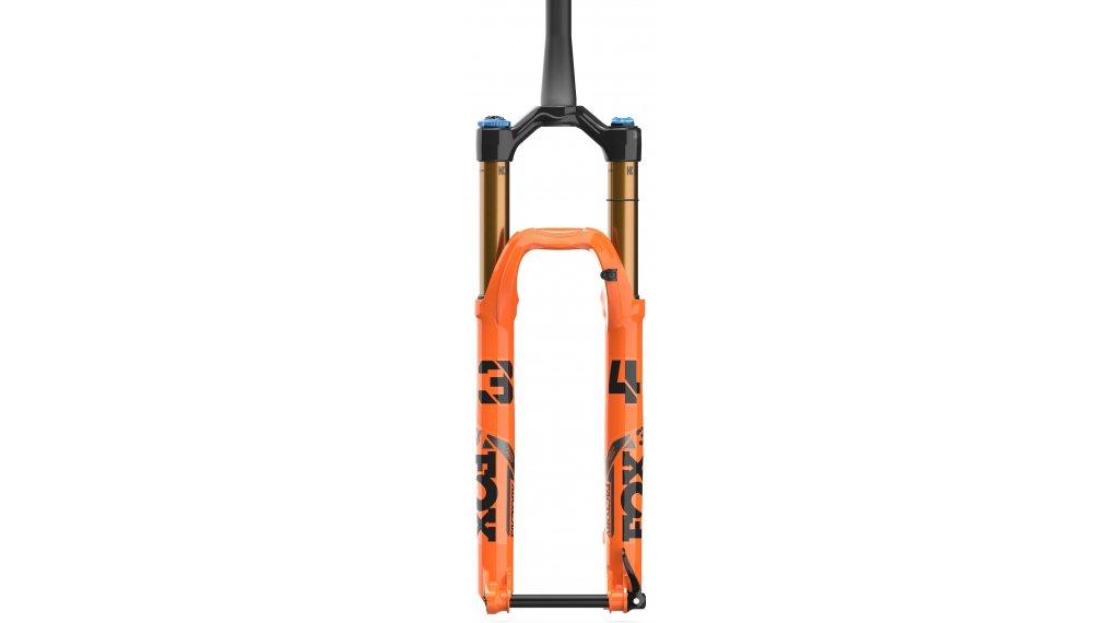 """Fox 34 Float Grip 2 HSC LSC HSR LSR Factory Serie 29"""" Federgabel 140mm 1.5 Tapered 15QRx110mm 44mm Offset shiny orange black/clear Logo Mod. 2021"""