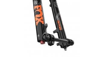 """Fox 36 Float FIT4 3 Pos-Adjust Factory Serie 29"""" Federgabel 150mm 1.5 Tapered 15QRx110mm 44mm Offset Shiny black orange/gloss black Logo Mod. 2021"""
