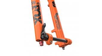 """Fox 36 Float Grip 2 HSC LSC HSR LSR Factory Serie 29"""" Federgabel 160mm 1.5 Tapered 15QRx110mm 44mm Offset Shiny orange black/clear Logo Mod. 2021"""