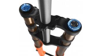 "Fox 40 Float Grip 2 HSC LSC HSR LSR Factory Serie 29"" Federgabel 203mm 1 1/8 Drop 20TAx110mm 52mm Offset shiny orange black/clear Logo Mod. 2021"