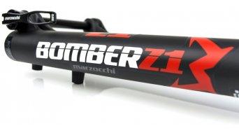 "Marzocchi Bomber Z1 手柄 Sweep-Adjust Boost 29"" 前叉 130mm 1.5 Tapered 15QRx110 mm 51mm Offset matte black std/matte black logo 款型 2019"