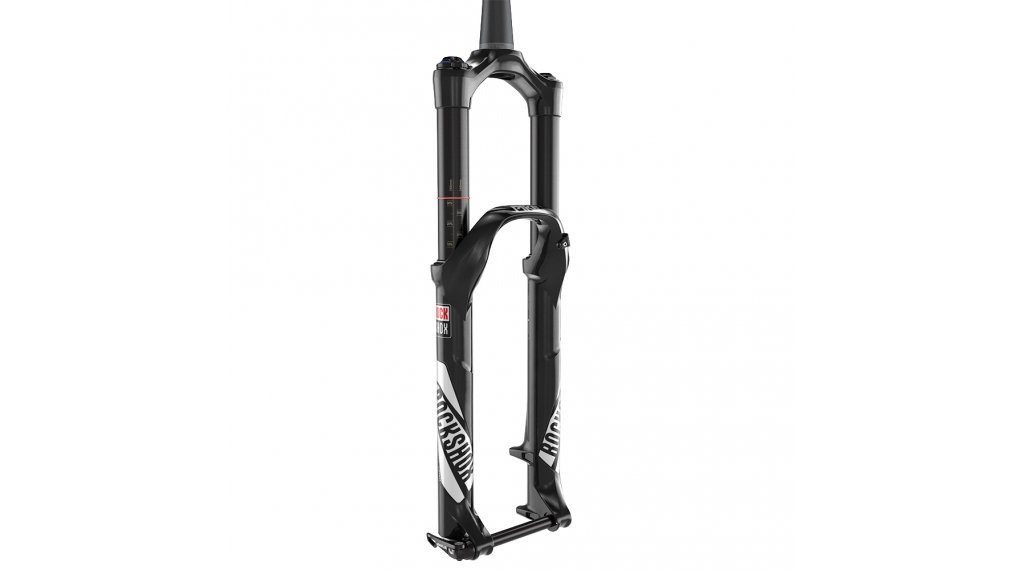 RockShox Pike RCT3 Solo Air 27,5 前叉 130mm 1.5 Tapered 15QR Maxle Ultimate diffusion black 款型 2019
