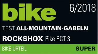 "RockShox Pike RCT3 Debon Air 27,5""+/29""+ Federgabel 150mm 1.5 Tapered Boost 15x110mm (51mm Offset) black Mod. 2019"
