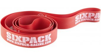 "Sixpack RIMTAPE 26"""" (25x559) 25 x 599mm, width 25mm, for 26"""" red"