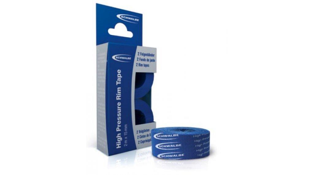 Schwalbe Polyamid Klebefelgenband 18mm blau 2x2m Rolle