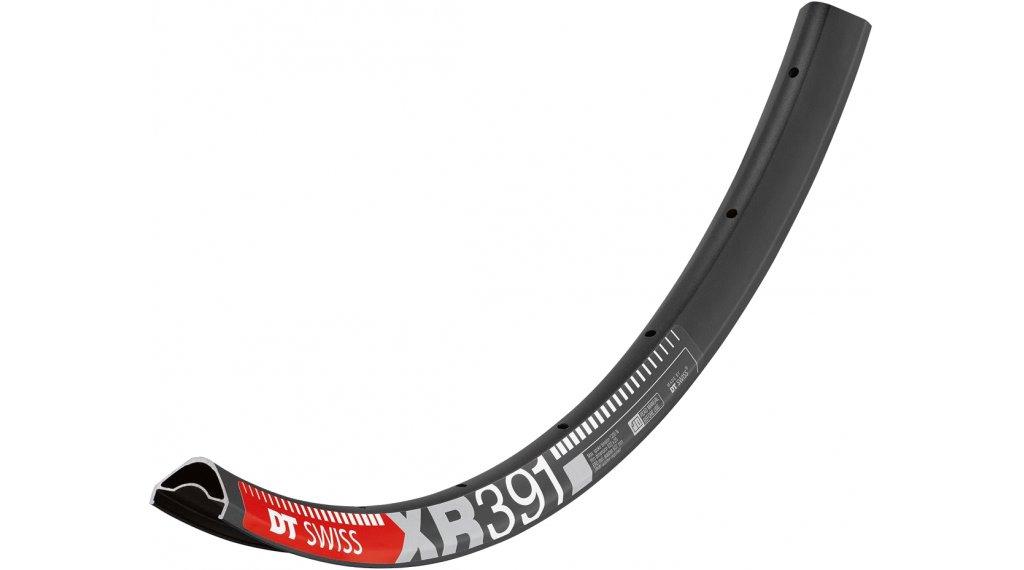 """DT Swiss XR 391 27.5""""/650B rim 28 hole black incl. DT Squorx Pro Head nipple 2.0x15mm + washer"""
