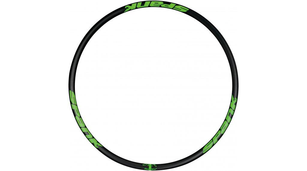 "Spank Spike Race 33 EVO BeadBite Disc 27.5"" Felge 32 Loch black/emerald green"