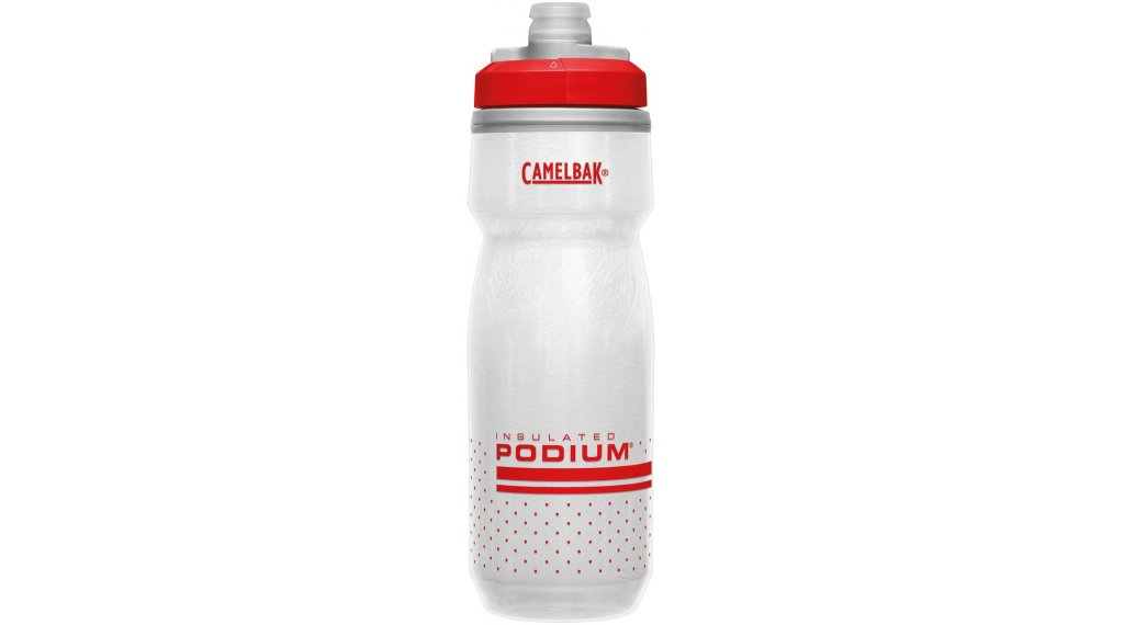 Camelbak Podium Chill Trinkflasche 620ml fiery red/white