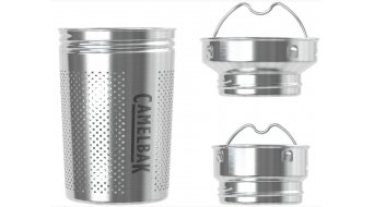 Camelbak Tea S trainer Teeein set voor flessen zilver